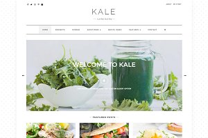 Kale - The Perfect Food Blog Theme