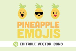 Pineapple Emojis