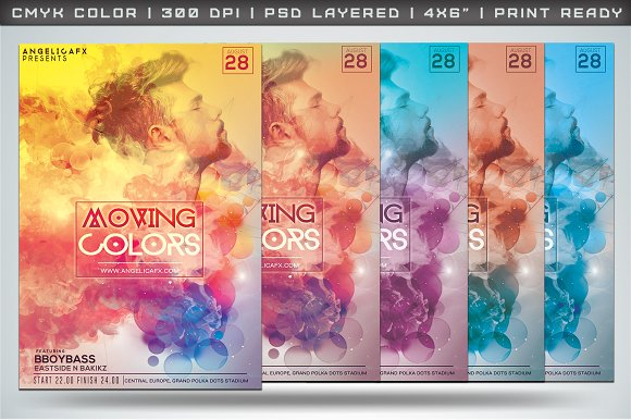 MOVING COLORS