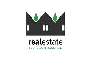 Real Estate Crown Logo