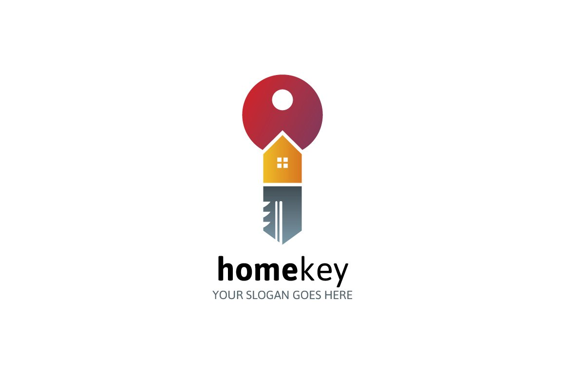 Home Key Logo ~ Logo Templates ~ Creative Market