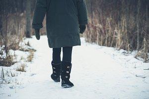 Winter hike L