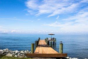 Dock on the Chesapeake