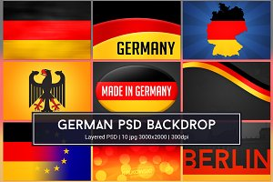 Germany Background PSD
