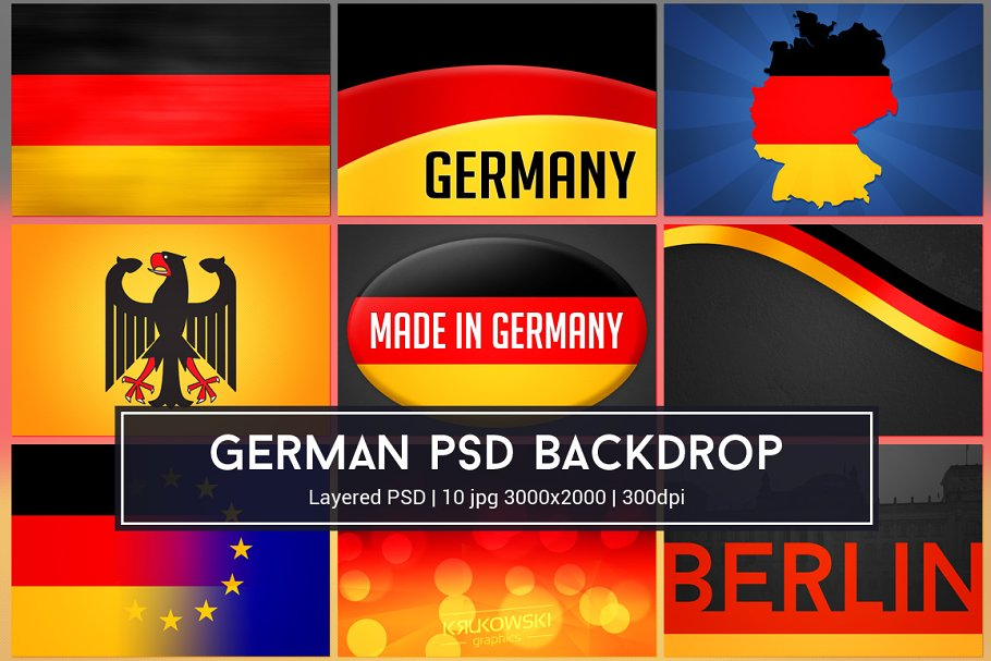 Germany Background PSD
