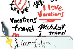 VACATIONS, I love travel, etc.