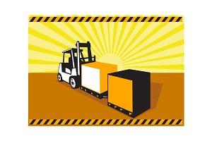 Forklift Truck Materials Handling