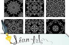 9 Ornamental seamless patterns