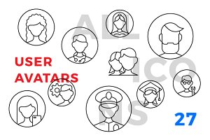 User avatars