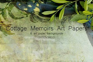 Cottage Memoirs Art Papers