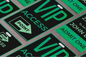Club VIP access pass