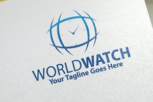 World Watches | Logo Template