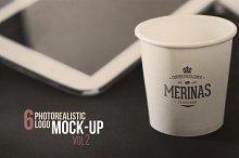 Photorealistic Logo MockUp Vol.2