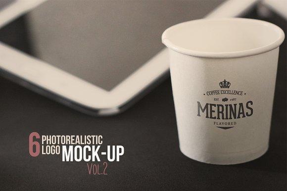 Download Photorealistic Logo MockUp Vol.2