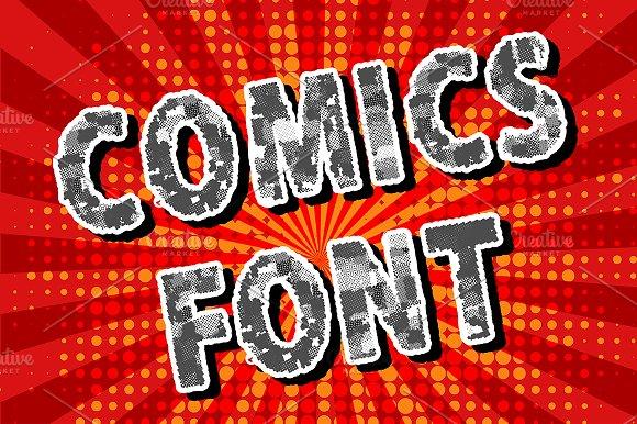 Comics font. Vol. 1 - Symbols