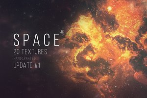 Space 4k – 20 dark space textures