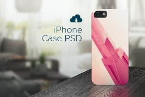 iPhone case PSD