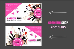 Cosmetic Shop Cards