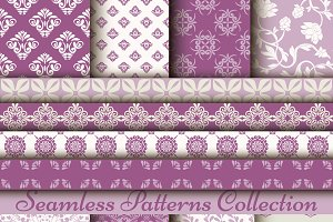 Set of 8 classic patterns. Bodacious
