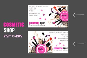 Cosmetic Shop Card