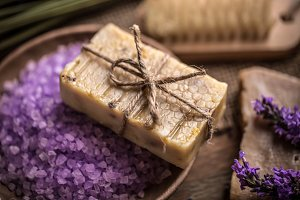 Natural handmade soap