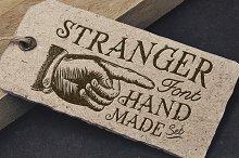 Stranger Font Pack & Vector Graphics
