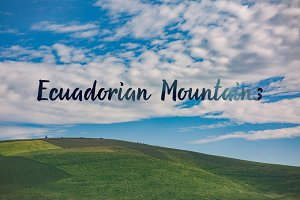 Ecuadorian Mountains