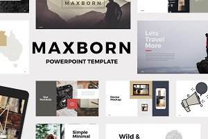 MAXBORN - Powerpoint Template