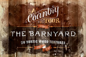 The Barnyard - 20 Wood Textures
