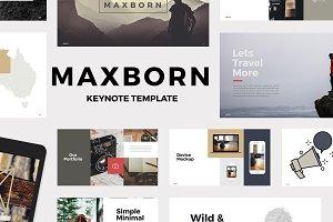 MAXBORN - Keynote Template