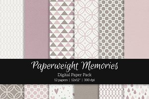 Patterned Paper - Vintage Style