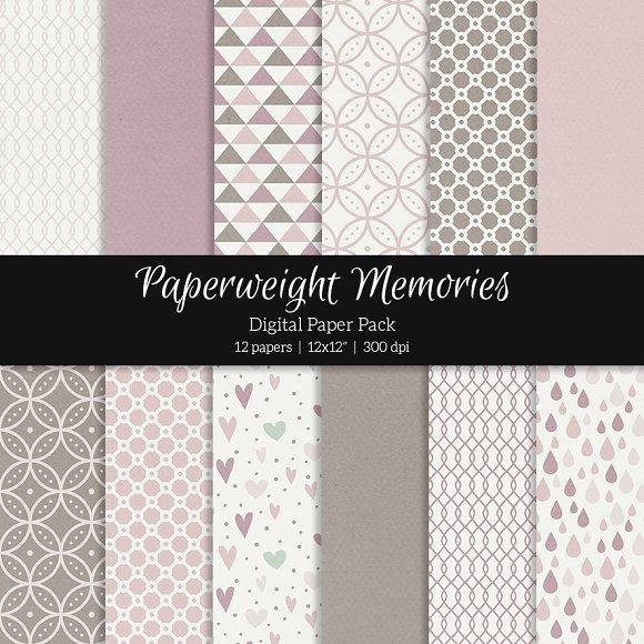 Patterned Paper - Vintage Style