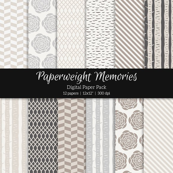 Patterned Paper – Into the Woods