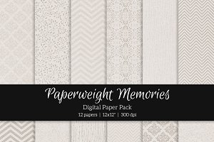 Patterned Paper – Forget me not
