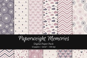 Patterned Paper – Rose Dreams