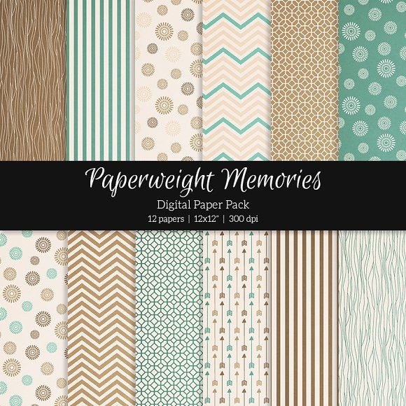 Patterned Paper – Paper Town