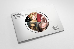 4 Pages Fashion Bi Fold Brochure