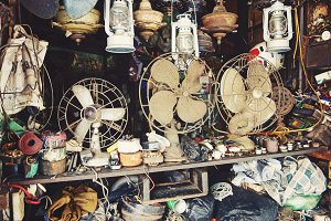 Fan Repair Shop