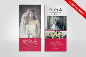 Wedding Rack Card Templates