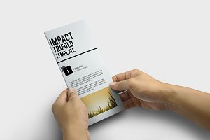 Impact Trifold Template