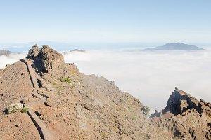 Path on top of La Palma.