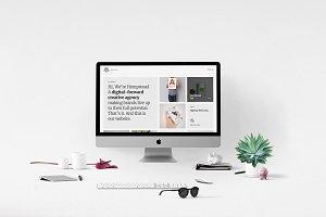 Hempstead - One-Page Portfolio HTML5