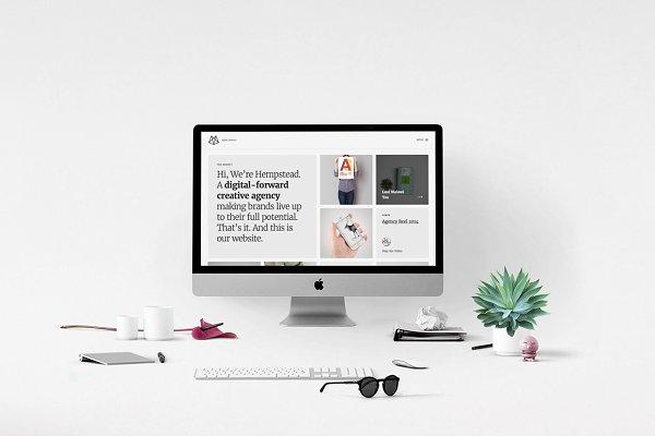 Hempstead - One-Page Portfolio HTML…