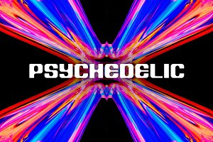 Psychedelic: 64 Trippy Backgrounds