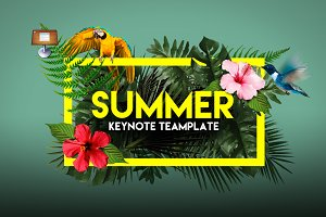 Summer | Keynote Template