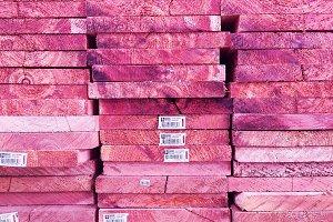 Pink Woodgrain Texture Background