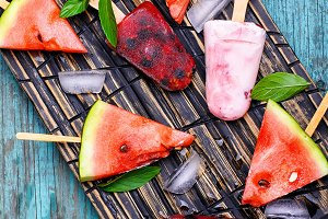 Ice cream watermelon