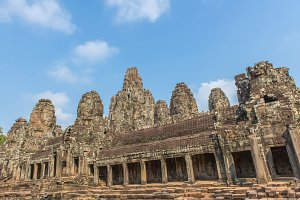 Prasat Bayon Khmer temple