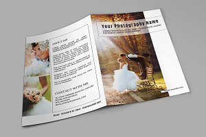 Wedding Photography Brochure-V565