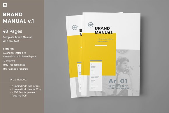 How to design a brand style guide creative market blog for Free brand guidelines template